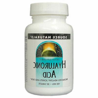 Source Naturals, Hyaluronic Acid with Biocell Collagen Type