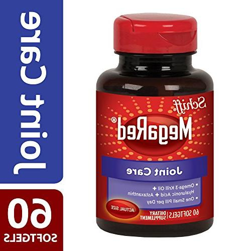 MegaRed 60 softgels Omega Krill and