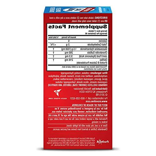 Move Free Strength Glucosamine Acid Joint Count
