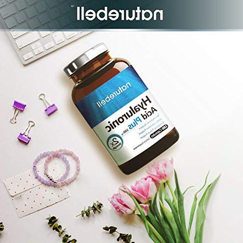 Maximum Strength Hyaluronic 100mg,180 Skin & Lubrication. Gluten and in USA.