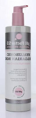 PH Factor 5.5 Anti-Aging Hyaluronic Acid Cream for face and