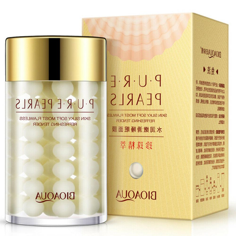 pure silk pearls essence face cream hyaluronic