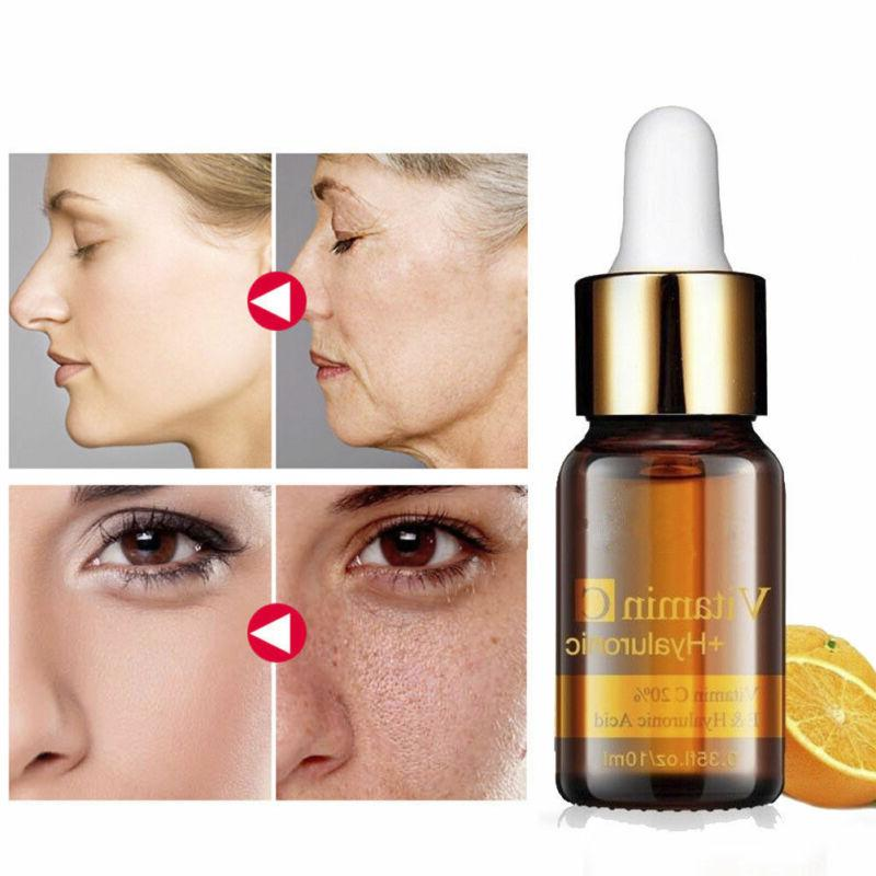 pure vitamin c hyaluronic acid whithening collagen