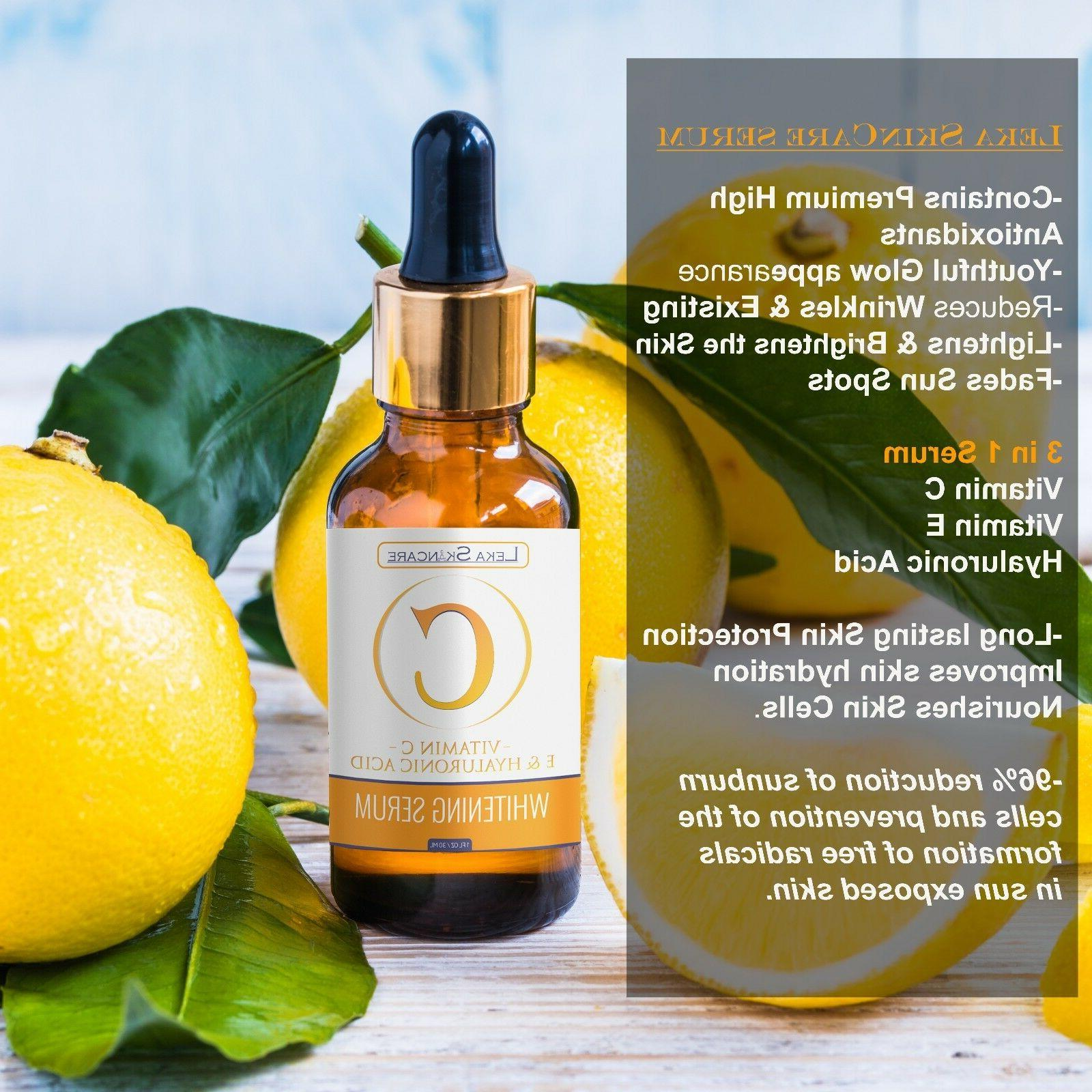 Pure Vitamin C Hyaluronic Acid Collagen Serum for Face Aging 30