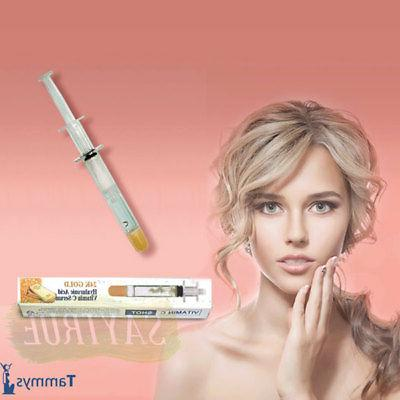 vitamin c 24k gold hyaluronic acid facial