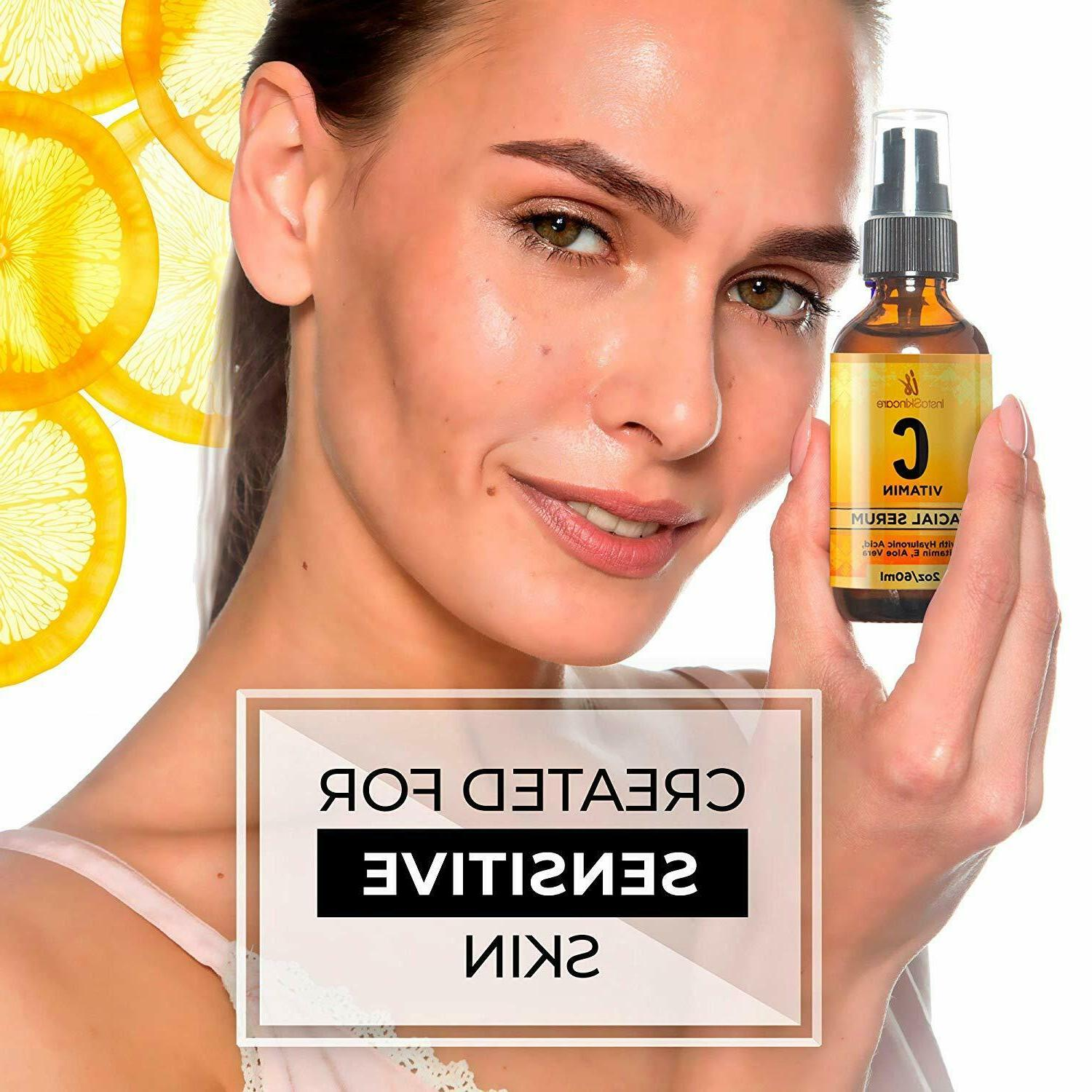 Vitamin Serum for Face with and
