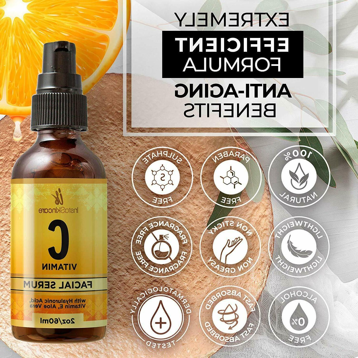 Vitamin C Face with Hyaluronic and E