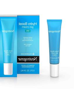 LOT OF TWO  Neutrogena Hydro Boost Eye Gel-Creme 0.5 Oz Hyal