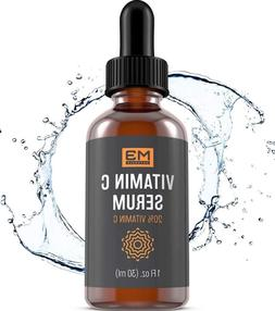M3 Naturals Vitamin C Serum with Hyaluronic Acid for Face &