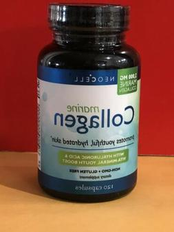 NEOCELL MARINE COLLAGEN 2000 MG WITH HYALURONIC ACID 120 CAP