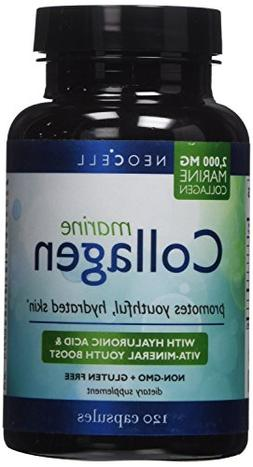 Neocell Marine Collagen plus Hyaluronic Acid Capsules 2000mg