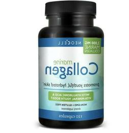 Neocell Marine fish Collagen +Hyaluronic Acid 120Caps Free S