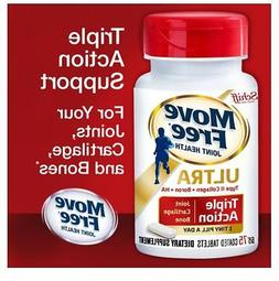 Schiff Move Free Ultra Triple Action 75 Tablets Joint Hyalur