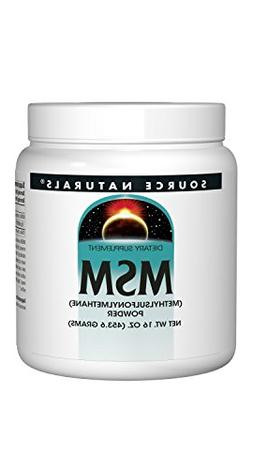 Source Naturals MSM  Powder 16 Ounces