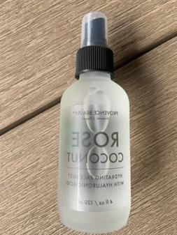 Provence Beauty Natural Vegan Rose Coconut Face Mist with Hy