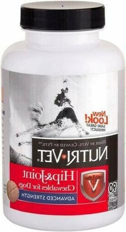NUTRI-VET Hip and Joint ADVANCED STRENGTH Chewable Tablets f