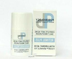 Purebiology Retinol Plus AntiAge Moisturizer Hyaluronic Acid