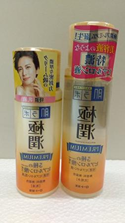 Rohto Hadalabo Gokujyun premium hyaluronic Lotion and Milk s