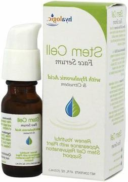 stem cell face serum with hyaluronic acid