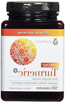 Youtheory Turmeric Extra Strength Formula Capsules 1,000 mg