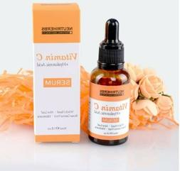 Vitamin C Serum + Hyaluronic Acid: High Quality Anti-aging S
